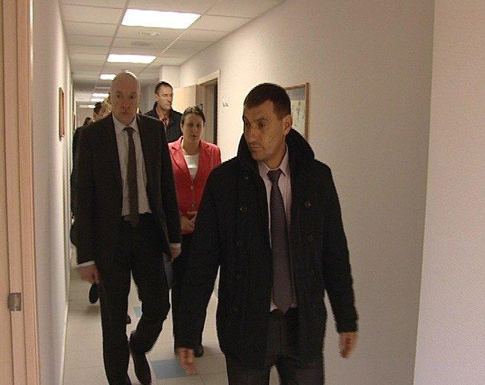 Главный федеральный инспектор по Свердловской области посетил ФОК