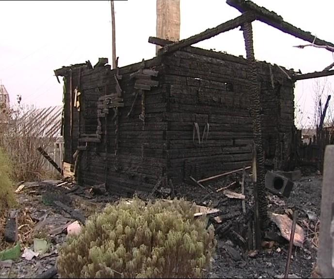 Полночи 11 пожарных боролись с огнем в коллективном саду «Серовлес», спасая садовый дом